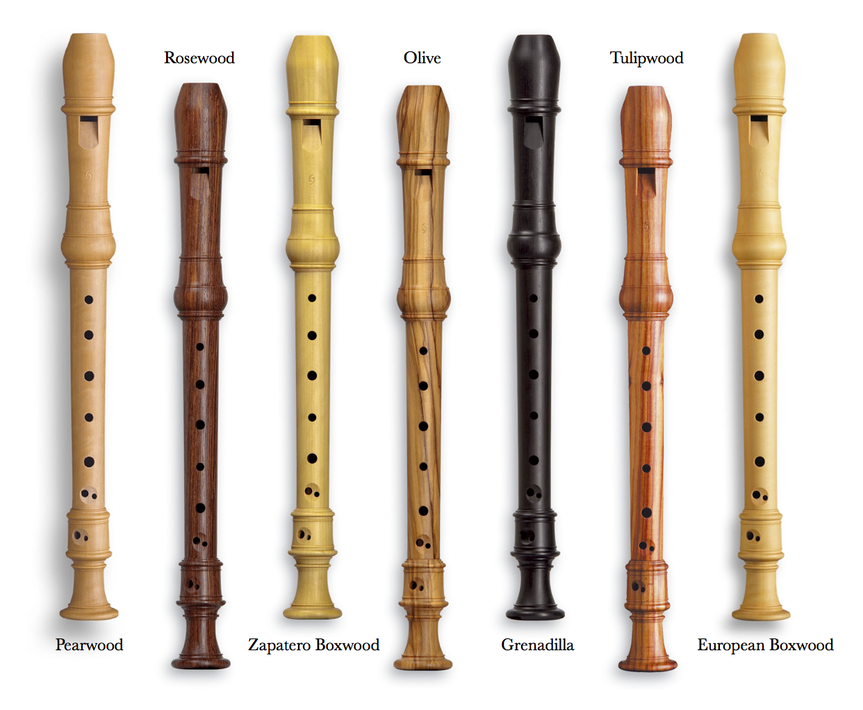 Musical Instruments With  Letters
