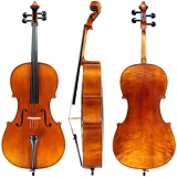 <h5>Cello</h5><p>oder Violoncello: Saiteninstrument (Streichinstrument)</p>