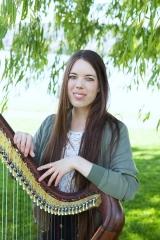 <h5>Karen van Rekum, Keltische Harfe</h5>
